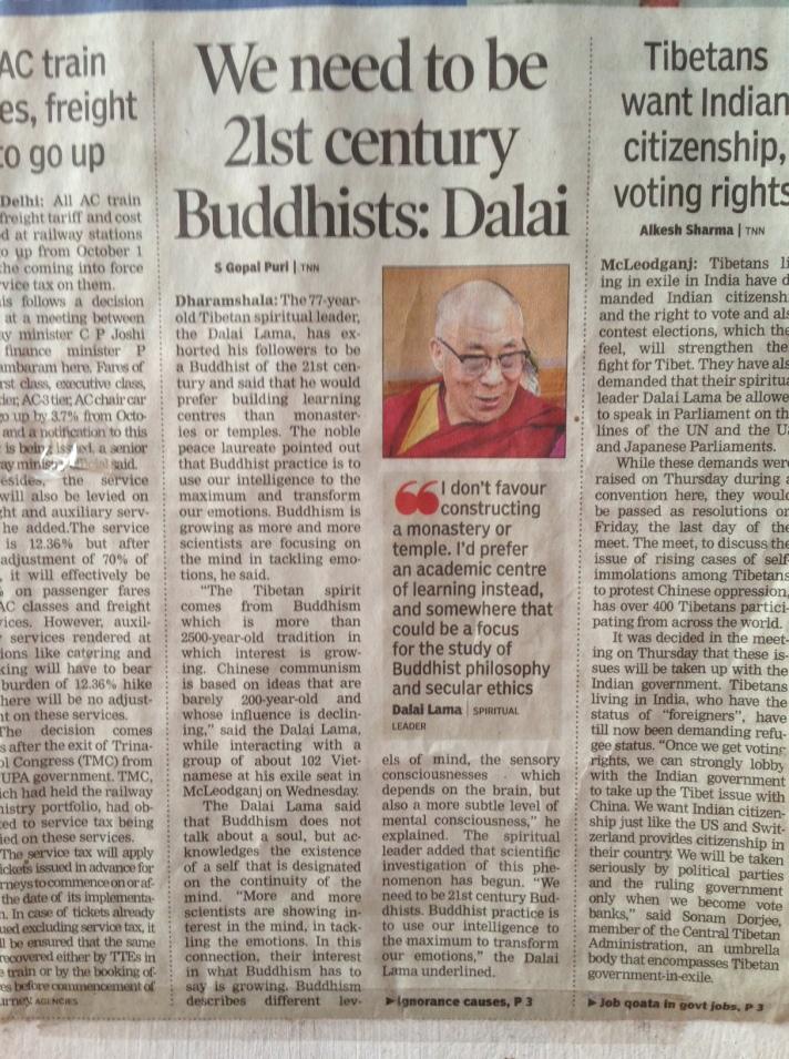 foto artikele Dalai Lama