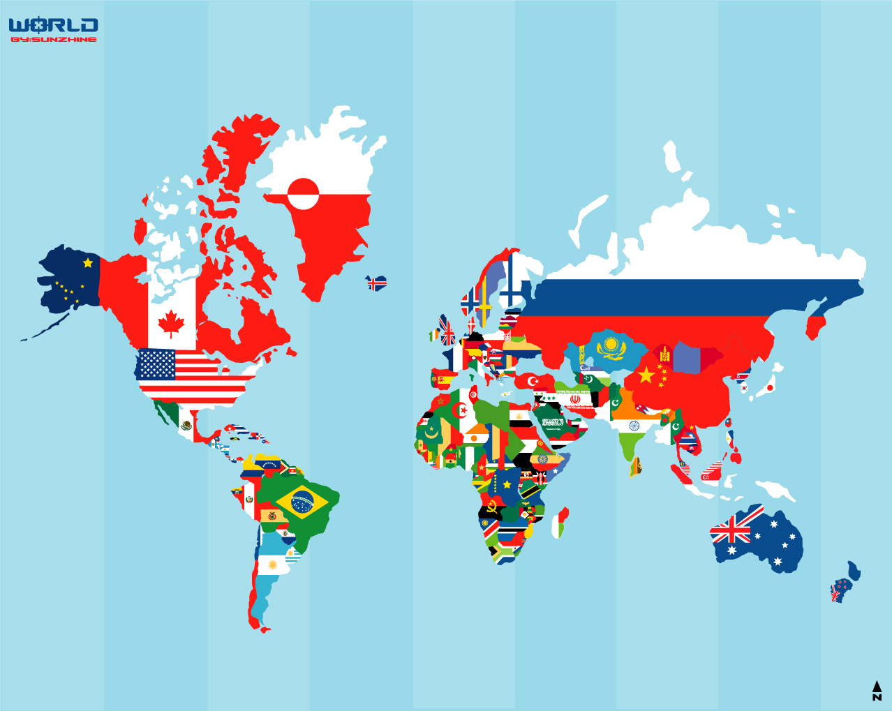 Beyond the nation state martijn jeroen van der linden recently i came across a map of flags gumiabroncs Images