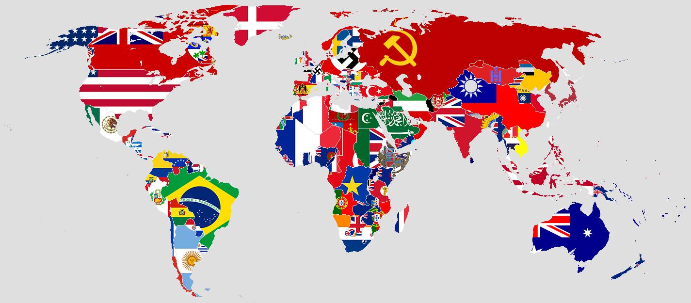 World map – Martijn Jeroen van der Linden